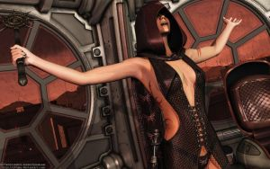 Sith Sorceress by Dendory
