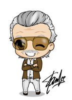 Stan Lee by Mibu-no-ookami