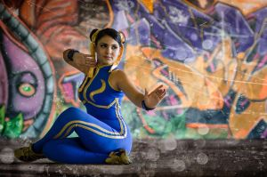 Chun Li Street Fighter  Photo By. Roger Ramirez by harleykmc