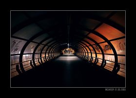 Alone in the tube by mcaksoy