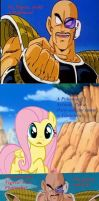 Fluttershy is a Pokemon by Johnlennondude