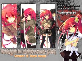 Shakugan no Shana render Pack by IrasChii25