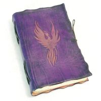 Purple Phoenix by gildbookbinders