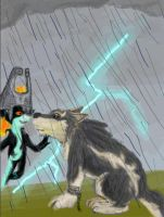 Link and Midna by clarinetplayer