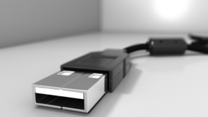 usb cable depth of field by oxide1xx