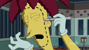 Sideshow Bob Bob- Ouchy by Spookytaco99