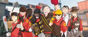 Team Fortress 2-Red Team by rxdez032