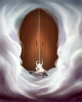 Knockin' on Heaven's Door by Hunnypuzzle