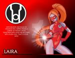Red Lantern Corps Laria by wardog-zero
