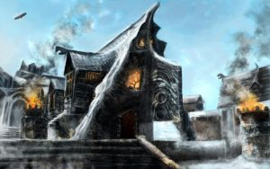 Windhelm by Artofjuhani