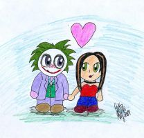 The Joker and I -Contest- by darkraven2116