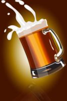 Mug of Beer - Vector by ArtLuisLara