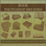 book brushes by chokingonstatic