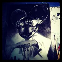 Deadmau5 WIP by Nash-Artz