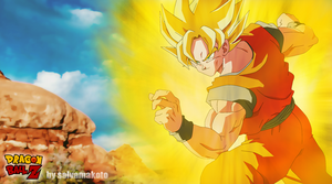 the super saiyan by salvamakoto