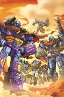 Botcon 2013: Machine Wars Comic Cover by ZeroMayhem
