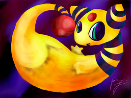 Ampharos by HiImSapphire