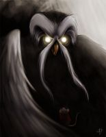 Meeting with the Great Owl by Prischool