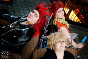Kingdom Hearts: Sitting Around by LiquidCocaine-Photos