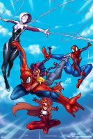 Web Slinger Day by DarkerEve