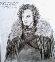 Jon Snow by pringlesaddict99