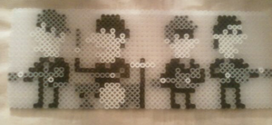 Perler Beatles I by rentintent