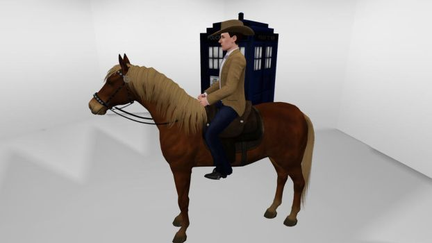 The Sims 3 - Doctor Who - Susan by exangel42