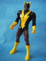 Custom 12 inch Black Vulcan Figure DC Universe by cusT0M