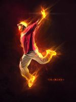 flame jump by streetX222