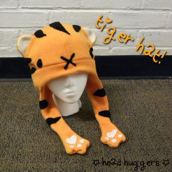tiger hat :3 by MikilofSouthern