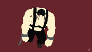 Sloth (Fullmetal Alchemist) Minimalist Wallpaper by greenmapple17