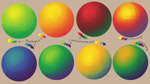 Color Study III Theory by Otis-OKS