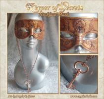 Keeper of Secrets NecklaceMask by Angelic-Artisan