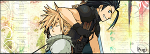 Zack and Cloud Crisis Core by PugiCullen