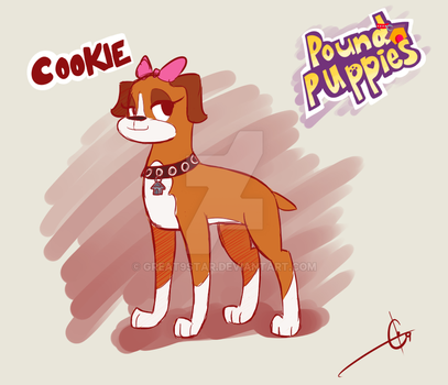 Cookie from Pound Puppies by Great9Star