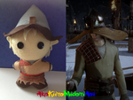 Dragon Age Plushes: Cole (With Hat) by AkaKiiroMidoriAoi