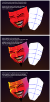 Comedy and Tragedy - Process by woohooligan