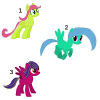 Picture Adoptables: Pegasi by Literate-Adopts