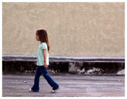 Little Girl Steps by JacquiJax