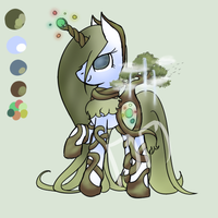 Ironbark Custom - For NoraVoracious 3/4 by daedric-darling