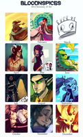 2014 Summary of Art by BloodnSpice