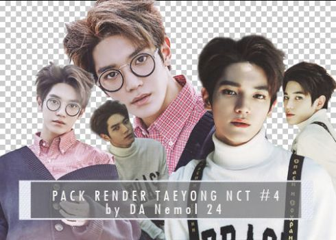 #7 Pack Render Taeyong NCT by Nemol24