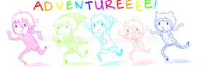 The Adventure Crew by MikachuKuro