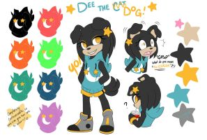 ::Dee the Cat REdesign:: by stylishGamer