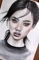 Asian girl 2 by TuranNazirova