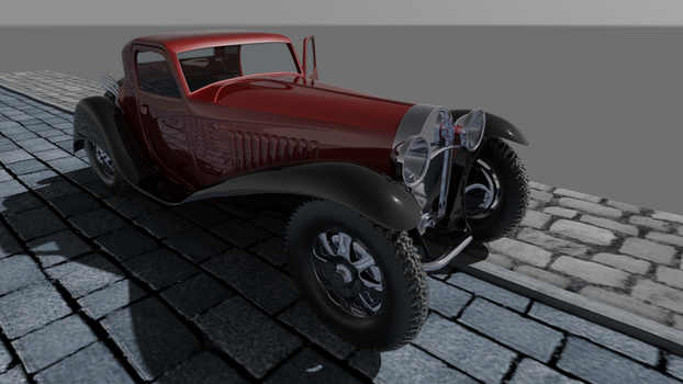 Bugatti Type-55 Coupe 1935 by Imp0s5ible