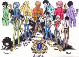 Vongola Family Guardians by Szayel-sama