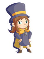 Hat Girl In Time by Domestic-hedgehog