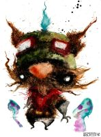 Teemo by wednesday-wolf