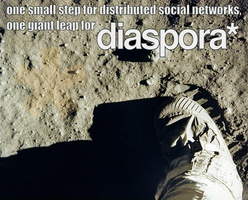 Diaspora One Small Step by naesk